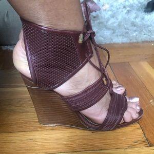 Derek Lam Brooklyn wedge sandals